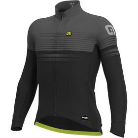 Alé Cycling Graphics PRR Slide Wind Koszulka rowerowa z zamkiem błyskawicznym Mężczyźni, black-charcoal grey